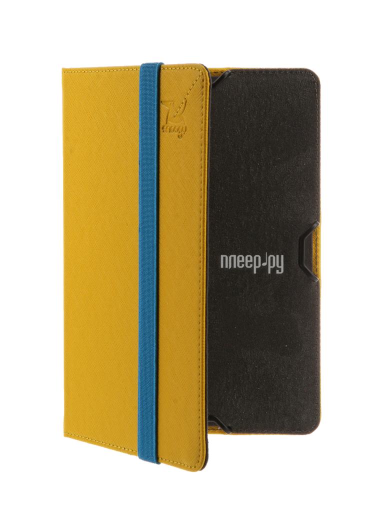 Аксессуар Чехол for PocketBook 614 / 615 / 624 / 625 / 626 / 640 Snoogy иск.кожа Yellow SN-PB6X-YEL-LTH