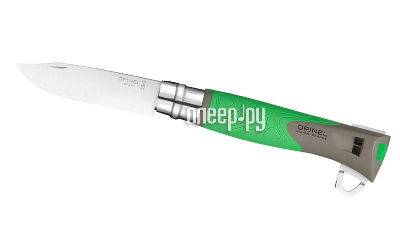 Нож Opinel №12 Explore Green 001899 - длина лезвия 100мм