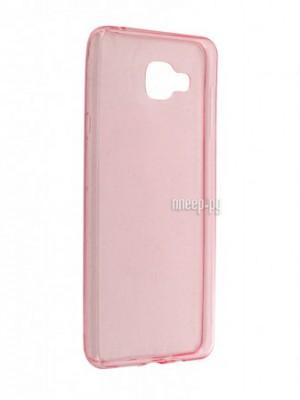 Купить Аксессуар Чехол-накладка Samsung Galaxy A7 BROSCO Pink SS-A7-TPU-PINK