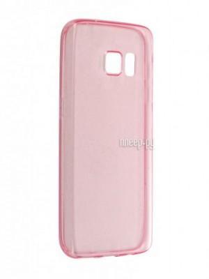 Купить Аксессуар Чехол-накладка Samsung Galaxy S7 BROSCO Pink SS-S7-TPU-PINK