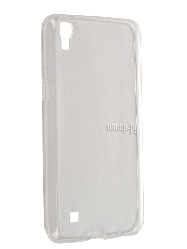 Аксессуар Чехол LG X Power Svekla Transparent SV-LGXP-WH купить