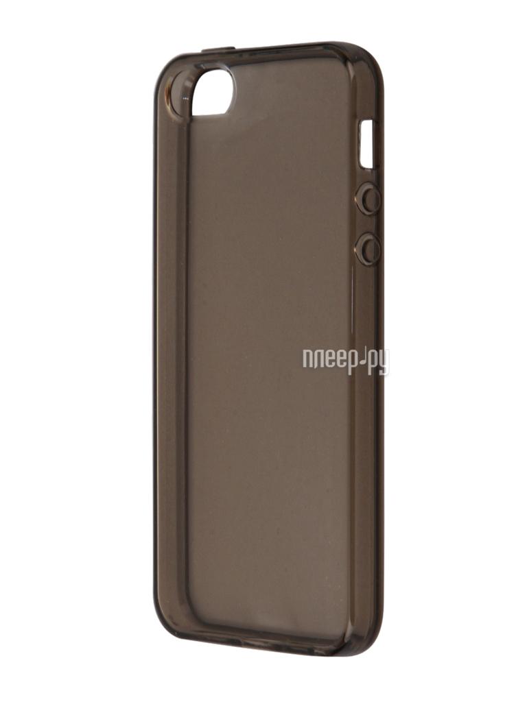 Аксессуар Чехол Svekla для APPLE iPhone 5 / 5S / SE Grey SV-AP5 / 5S-BL