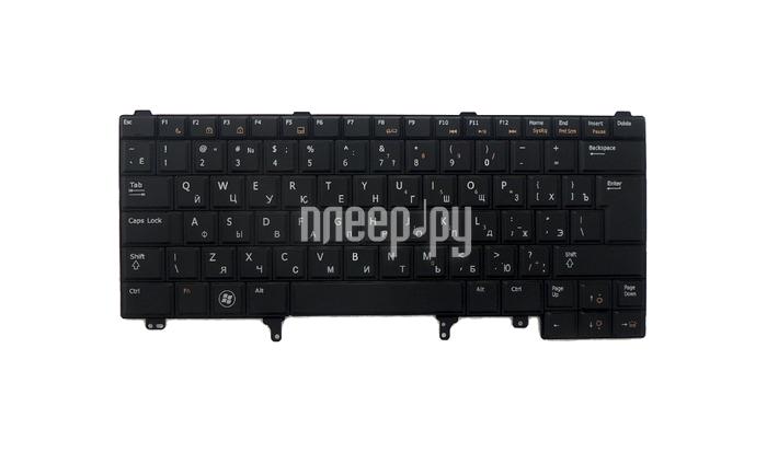 Клавиатура TopON TOP-100371 для DELL E5420 / E6220 / E6320 Series Black