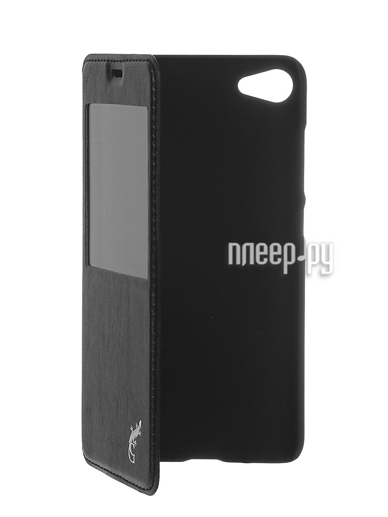 Аксессуар Чехол Meizu U10 G-case Slim Premium Black GG-752