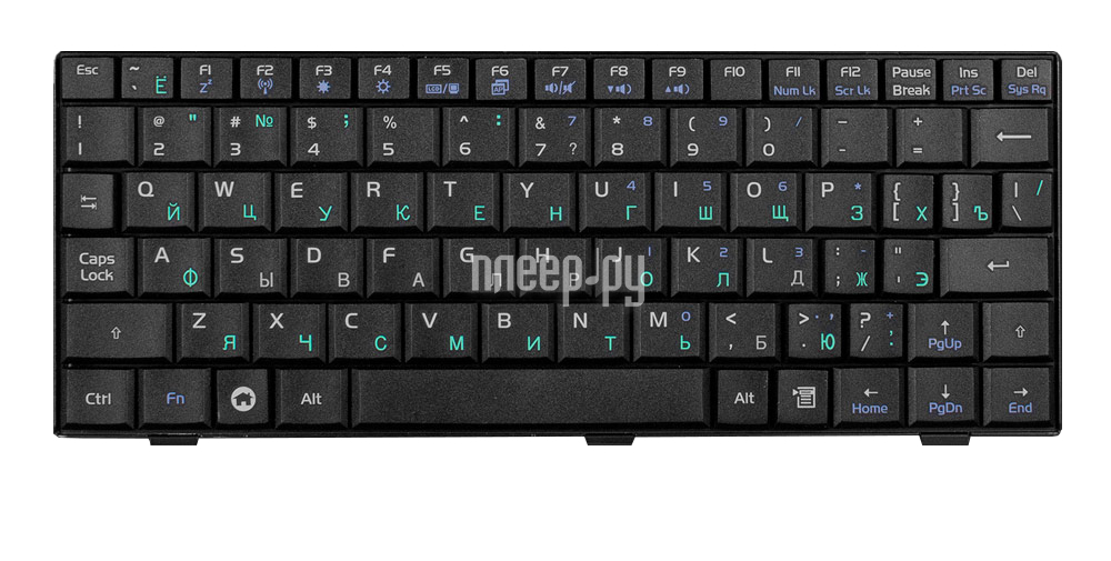 Клавиатура TopON TOP-77191 для ASUS Eee PC 700 / 701 / 900 / 901 Series Black