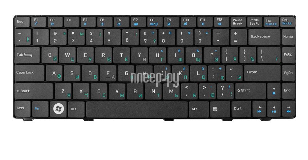 Клавиатура TopON TOP-75954 для ASUS F80 / F80CR / F80L / F80Q / F80S / X80L / X80LE Series Black за 607 рублей