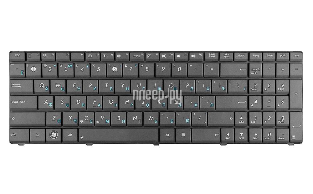 Клавиатура TopON TOP-86670 для ASUS K53T / K53Br / K53By / K53Ta / K53Tk / K53U / K53Z / K73Br / K73By / K73Ta / K73Tk / X53 / X53U