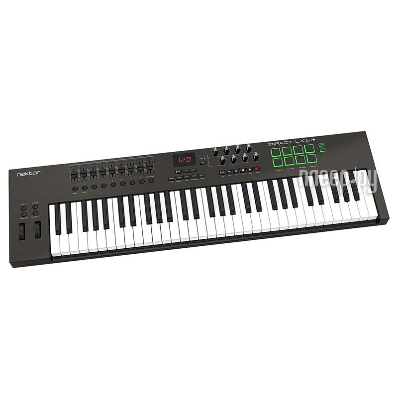 MIDI-клавиатура Nektar Impact LX61+