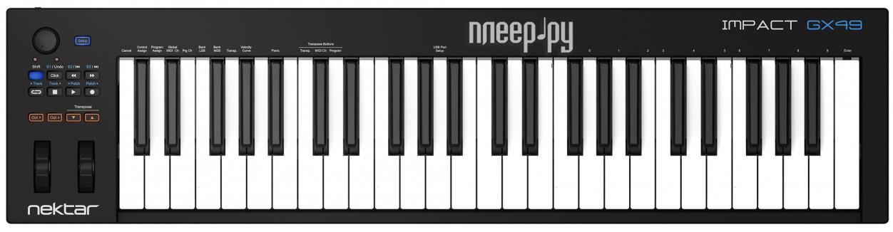 MIDI-клавиатура Nektar Impact GX49