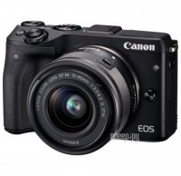 Фотоаппарат Canon EOS M3 Kit EF-M 15-45 IS STM Black