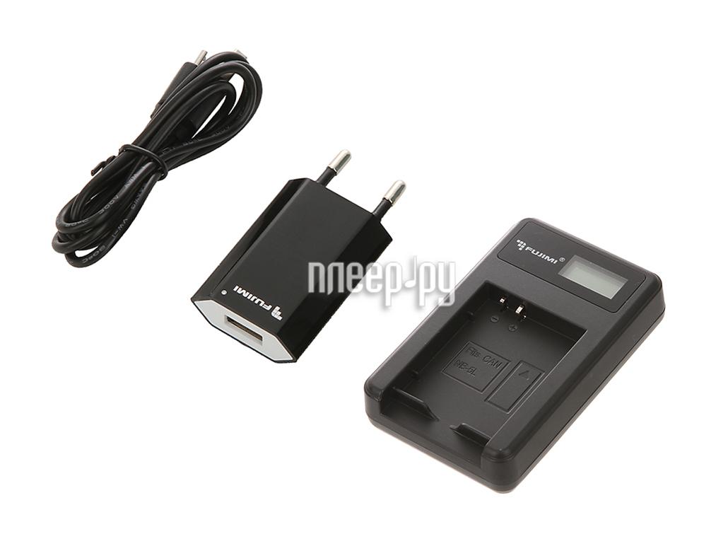Зарядное устройство Fujimi FJ-UNC-NB5L + Адаптер питания USB
