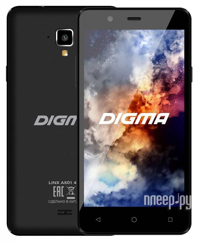 Сотовый телефон Digma Linx A501 4G Black