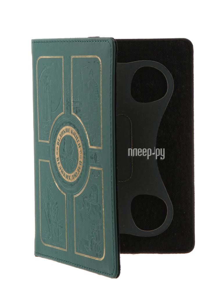 Аксессуар Чехол 6.0-inch Vivacase Book Green VUC-CBK07-green