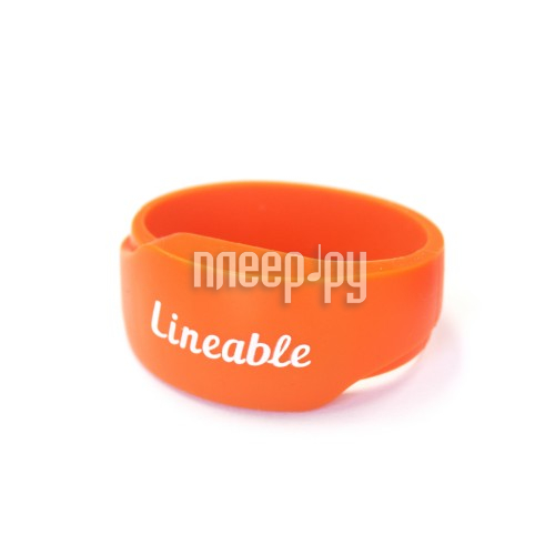 Аксессуар Детский трекер GPS Lineable Smart Band Size L Orange RWL-100ORLG