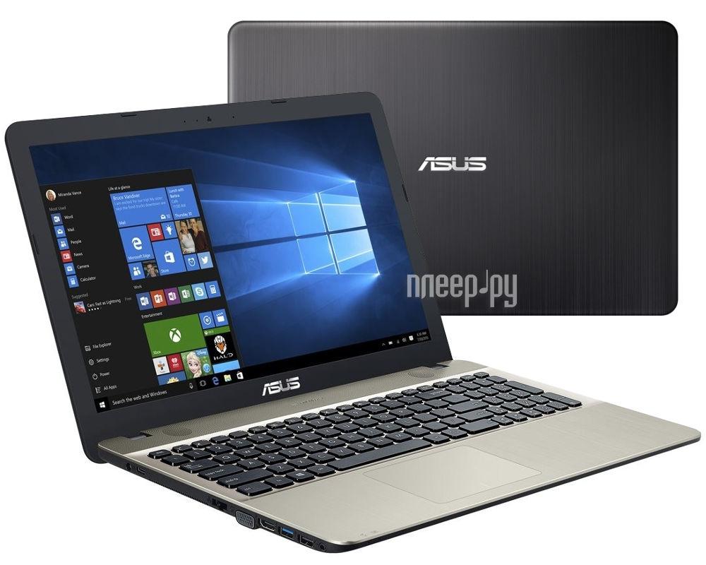 Ноутбук ASUS X541SA-XX327T 90NB0CH1-M04750 (Intel Pentium N3710 1.6 GHz / 2048Mb / 500Gb / Intel HD Graphics / Wi-Fi / Bluetooth / Cam / 15.6 / 1366x768 / Windows 10)