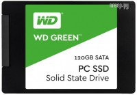 Жесткий диск 120Gb - Western Digital WD Green WDS120G1G0A