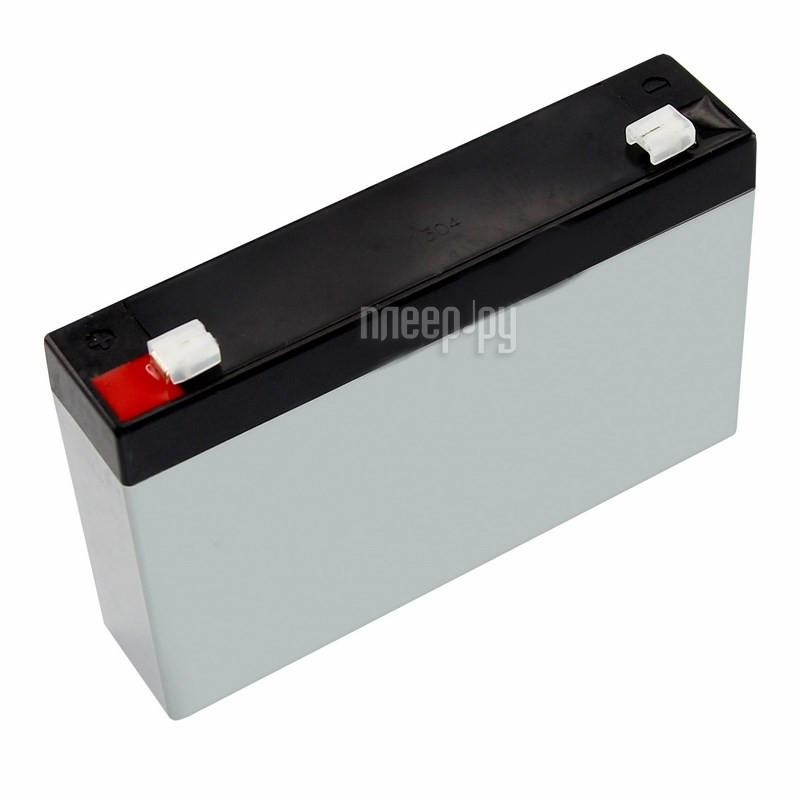 Аккумулятор Rexant 6V 1.2Ah 30-6012