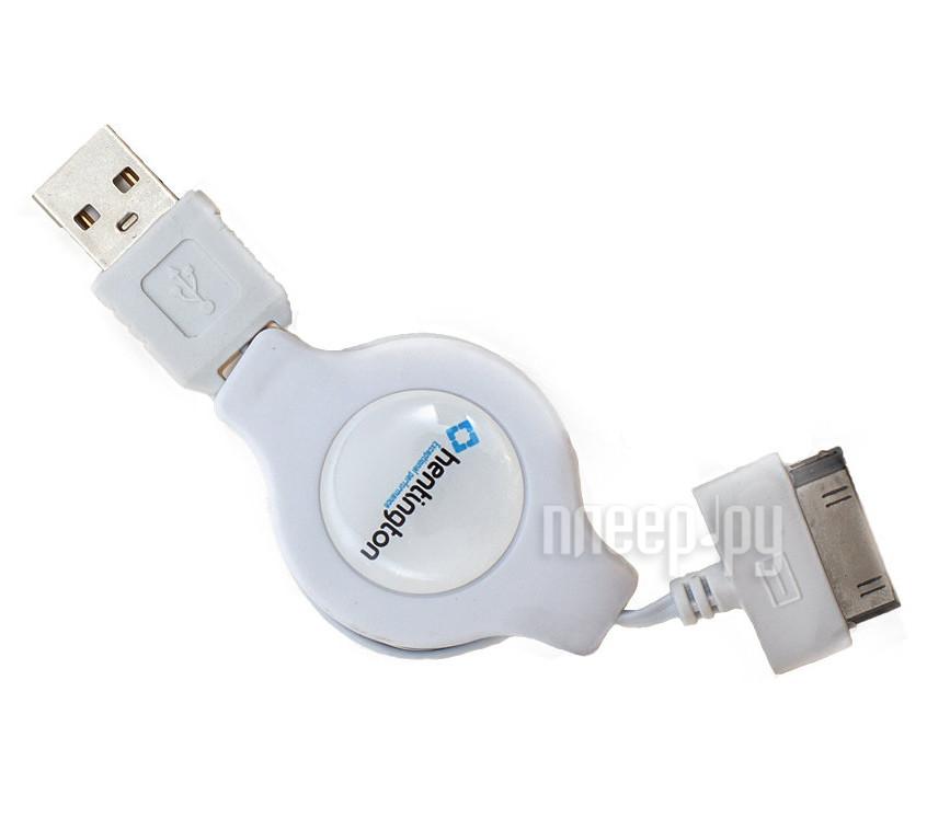 Аксессуар Hentington USB - 30 pin 1m White HA-1410