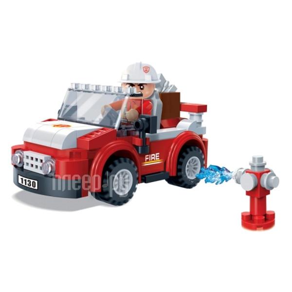Конструктор BanBao Пожарный внедорожник 105 дет. 7117
