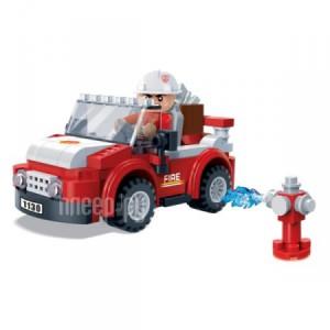 Купить Конструктор BanBao Пожарный внедорожник 105 дет. 7117