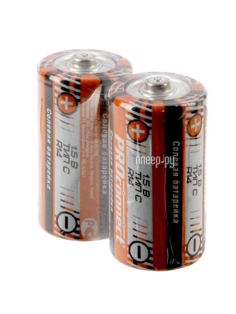 Батарейка C - ProConnect R14 30-0040 (2 штуки)