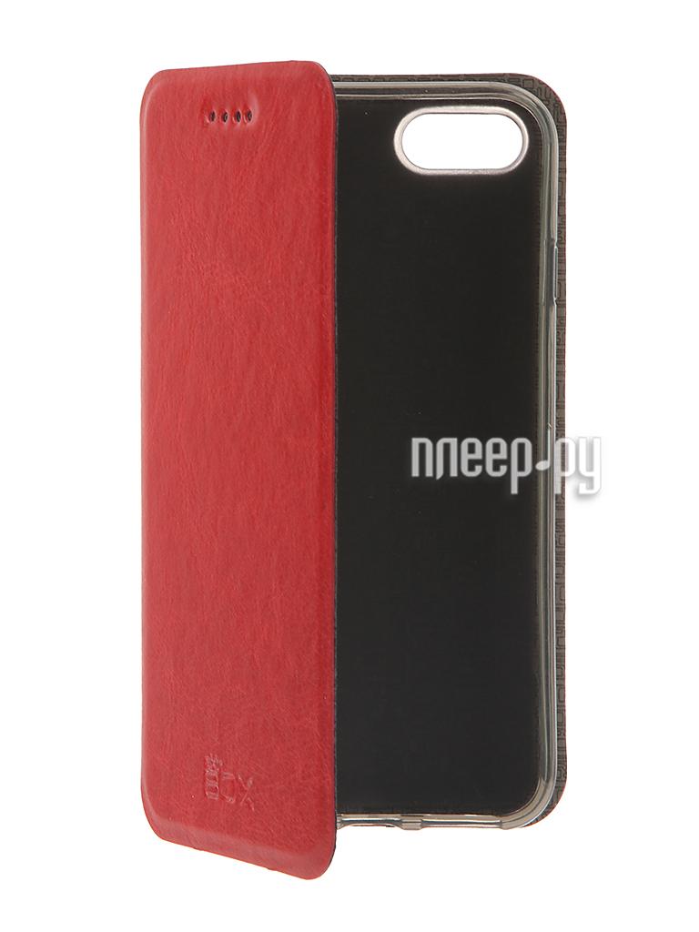 Аксессуар Чехол SkinBox Lux для iPhone 7 Red T-S-AI7-003