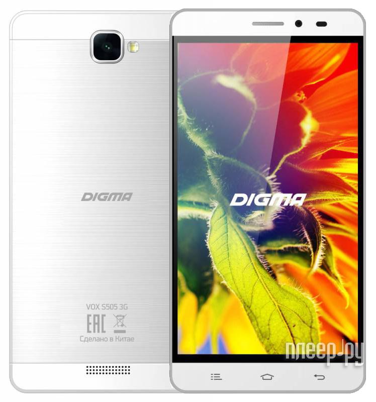 Сотовый телефон Digma Vox S505 3G White