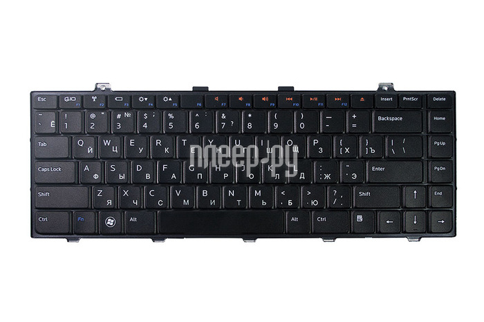 Клавиатура TopON TOP-100444 для DELL Studio 1450 / 1457 / 1458 / 15 / XPS L401 / L401X / L501 / L501X Series Black