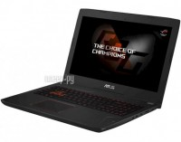 Ноутбук ASUS FX502VM-DM105T 90NB0DR5-M01870 (Intel Core i7-6700HQ 2.6 GHz/8192Mb/1000Gb/No ODD/nVidia GeForce GTX 1060 3072Mb/Wi-Fi/Bluetooth/Cam/15.6/1920x1080/Windows 10 64-bit)