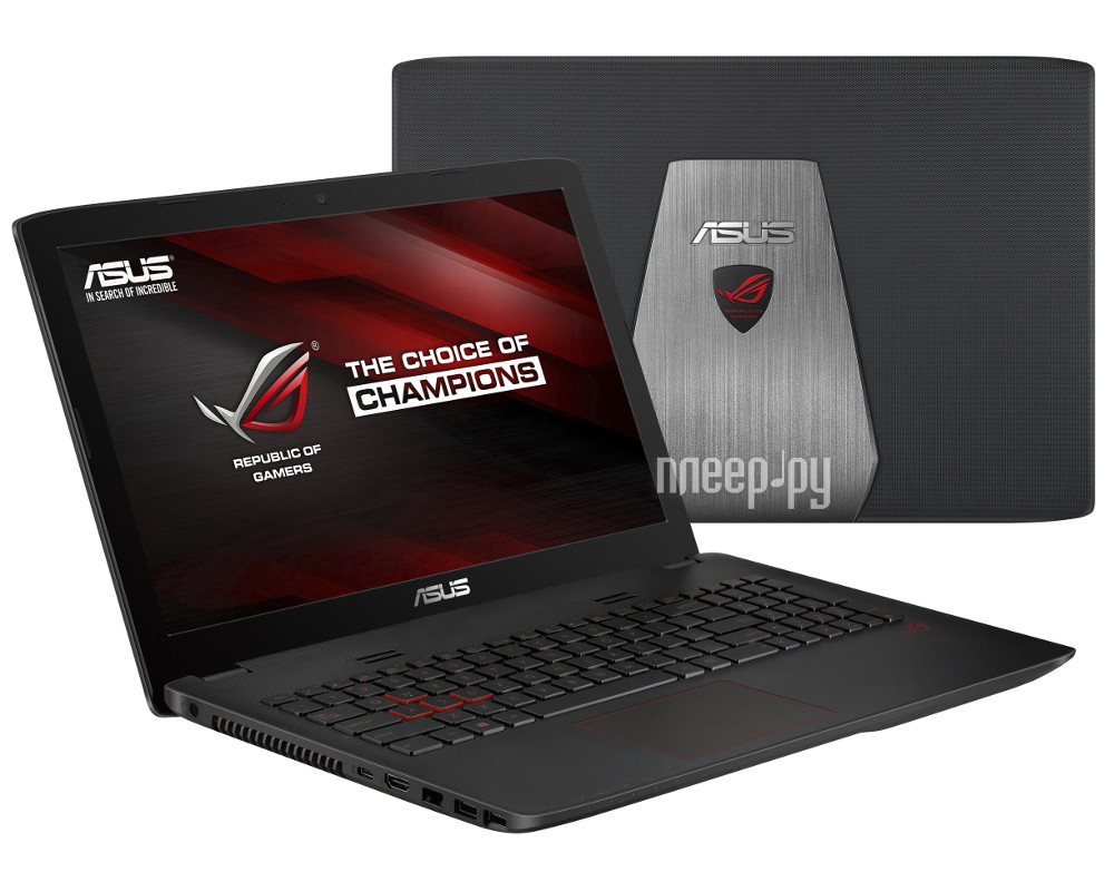 Ноутбук ASUS GL552VW-CN866T 90NB09I1-M10940 (Intel Core i5-6300HQ 2.3 GHz / 8192Mb / 1000Gb / DVD-RW / nVidia GeForce GTX 960M 2048Mb / Wi-Fi / Bluetooth / Cam / 15.6 / 1920x1080 / Windows 10 64-bit)