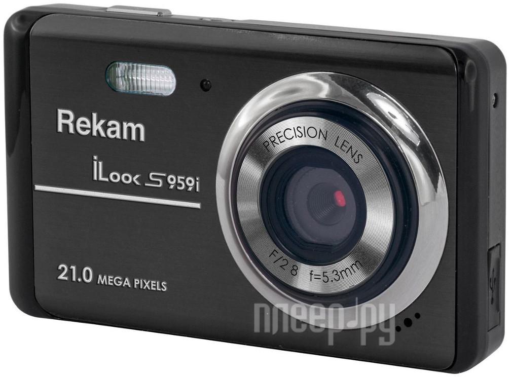 Фотоаппарат Rekam iLook S959i Black