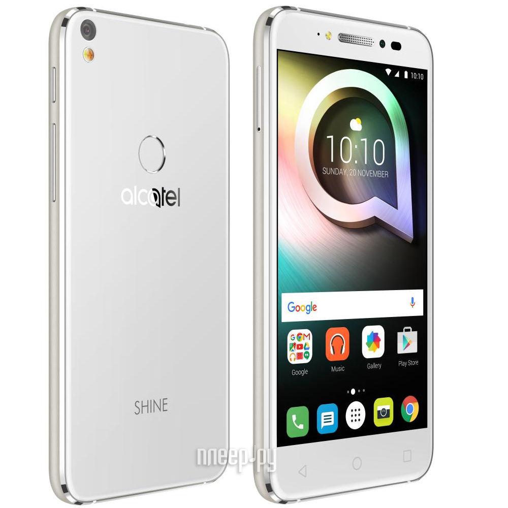 Сотовый телефон Alcatel Shine Lite 5080X Pure White