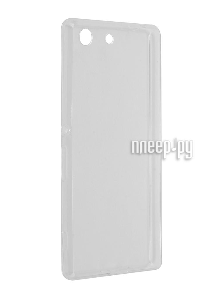 Аксессуар Чехол Sony Xperia M5 E5603 / E5606 / E5653 Svekla Transparent SV-SOE5603-WH