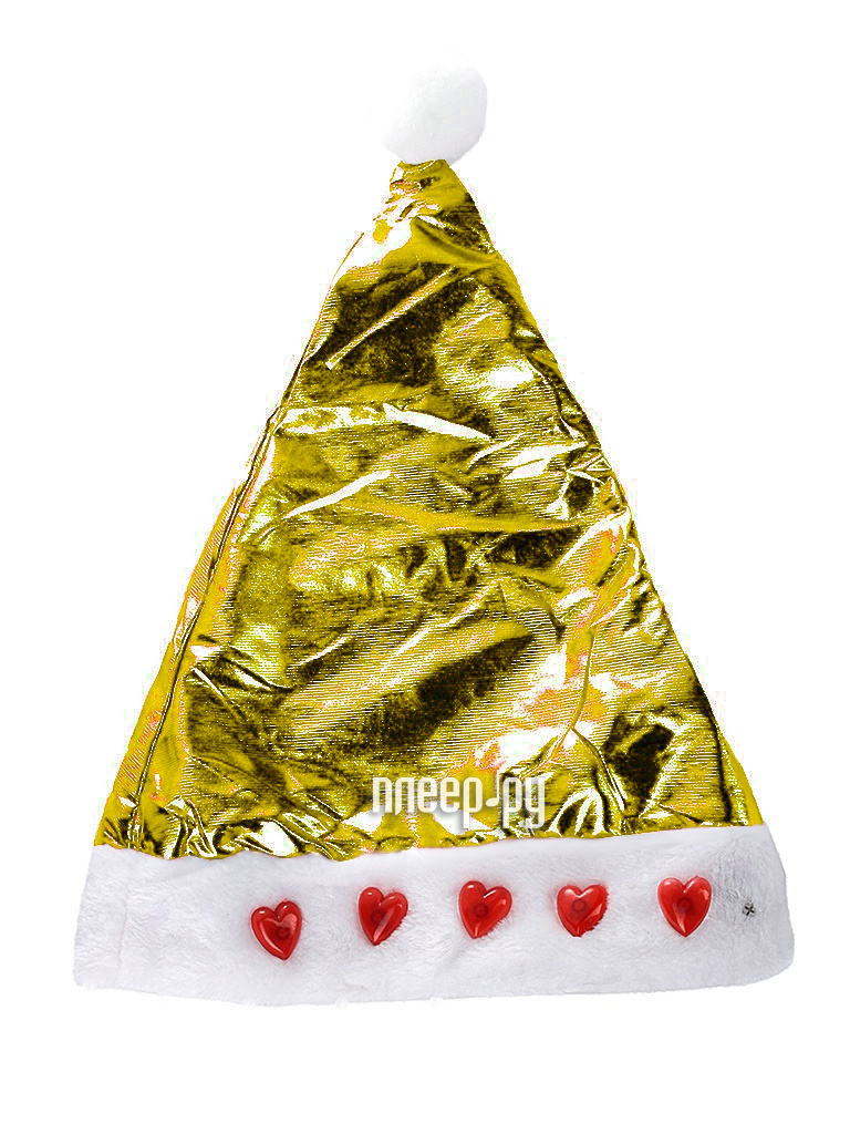 Новогодний сувенир Snowmen Шапка Снегурочки Е50846 Gold