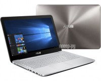 Ноутбук ASUS N552VW-FY251T 90NB0AN1-M03130 (Intel Core i7-6700HQ 2.6 GHz/16384Mb/2000Gb/DVD-RW/nVidia GeForce GTX 960M 2048Mb/Wi-Fi/Cam/15.6/1920x1080/Windows 10 64-bit)