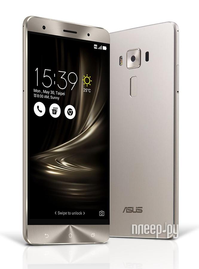 Сотовый телефон ASUS ZenFone 3 Deluxe ZS550KL 64Gb Silver
