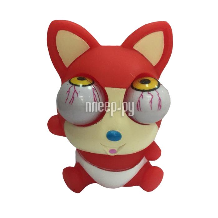 Игрушка антистресс Foshan Лупоглазы Красный лисенок 4702