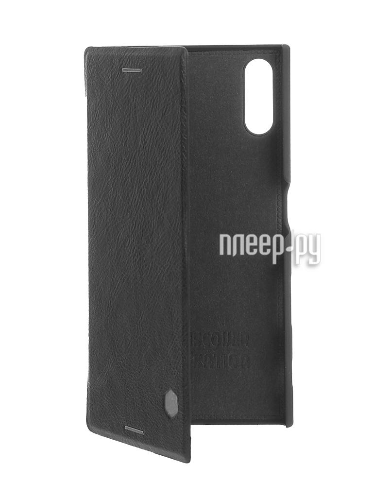 Аксессуар Чехол Sony Xperia XZ Nillkin QIN Black 12980