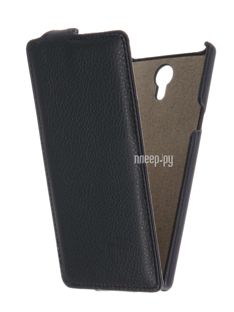 Аксессуар Чехол Philips S398 Cojess UpCase Black боковой