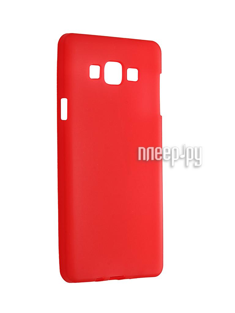 Аксессуар Чехол Samsung Galaxy A7 Duos / A700FD / A700F Cojess TPU Crimson