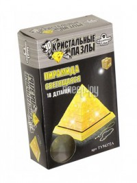 3D-пазл Crystal Puzzle Пирамида L Светильник New TY94372A /YJ6907C