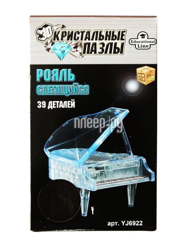 3D-пазл Crystal Puzzle Рояль XL Светильник YJ6922