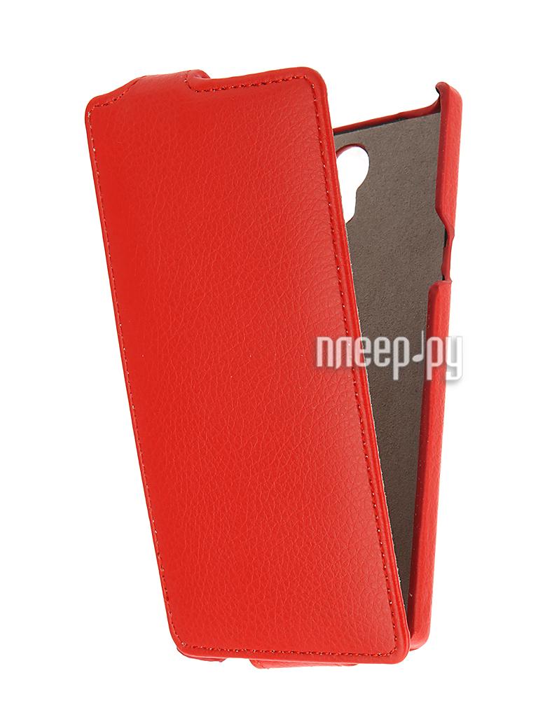 Аксессуар Чехол Philips S398 Cojess UpCase Red