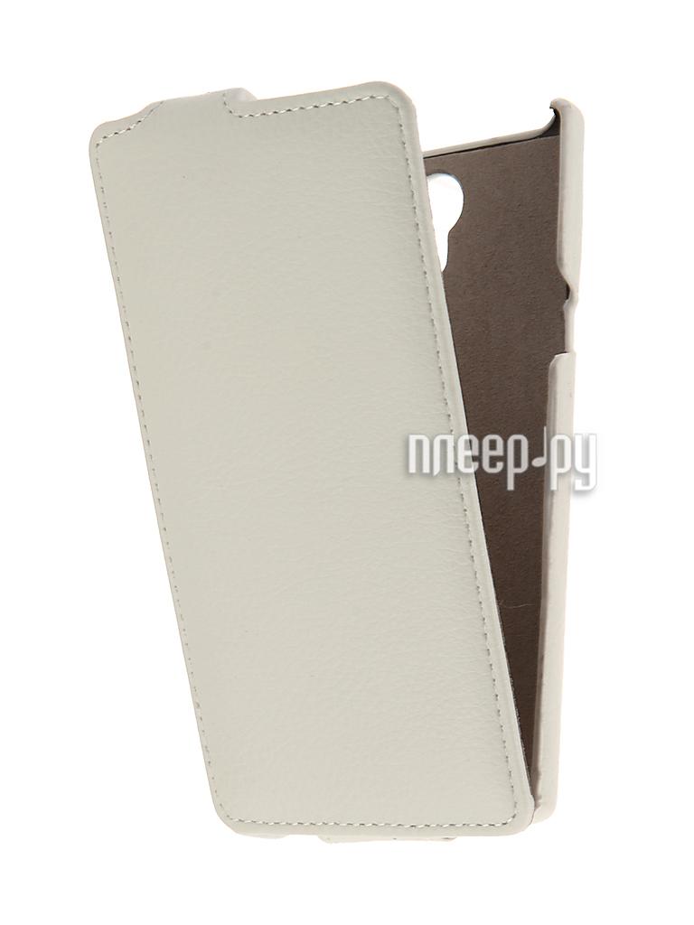 Аксессуар Чехол Philips S398 Cojess UpCase White