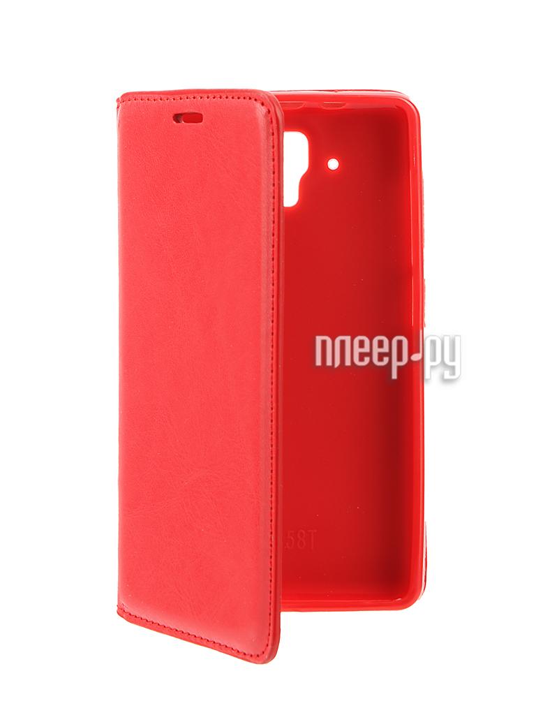 Аксессуар Чехол Lenovo A536 Cojess Book Case New Red