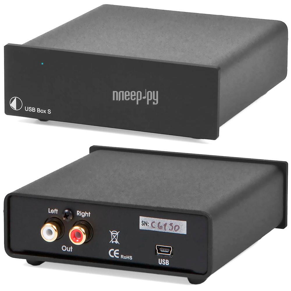 ЦАП Pro-Ject USB BOX S Black