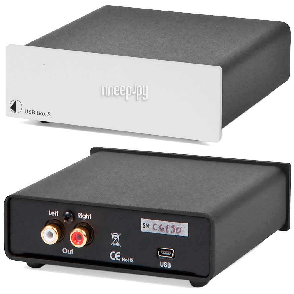 ЦАП Pro-Ject USB BOX S Silver
