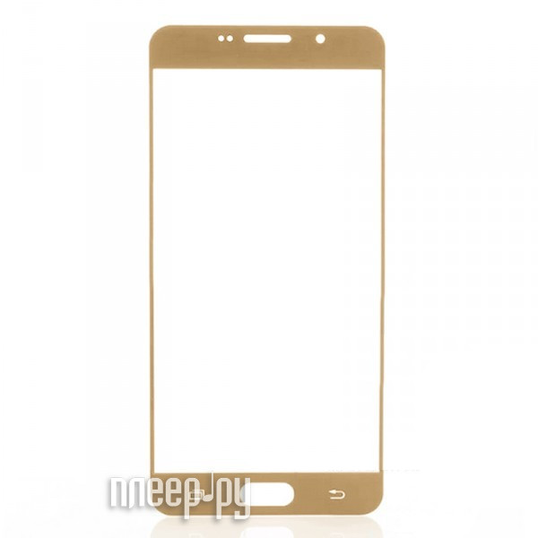 Аксессуар Защитное стекло Samsung SM-A510F A5 2016 Zibelino TG Full Screen 0.33mm 2.5D Gold ZTG-FS-SAM-A5-2016-GLD