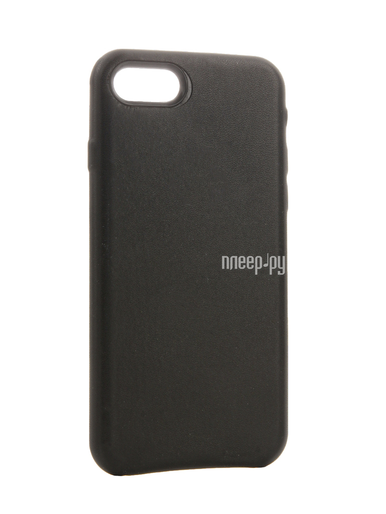 Аксессуар Чехол Krutoff Leather Case для iPhone 7 Black 10761