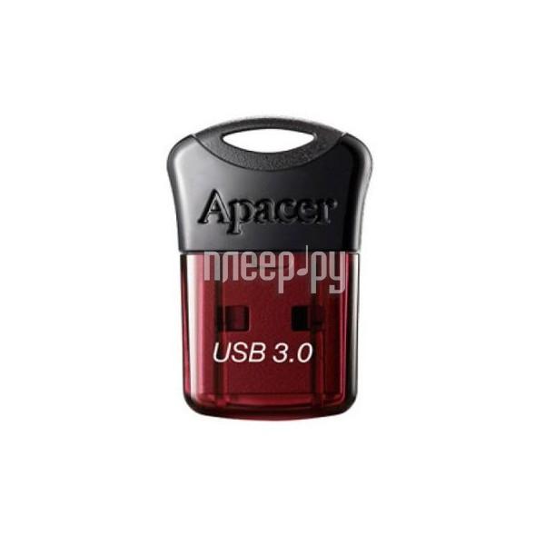 USB Flash Drive 32Gb - Apacer AH157 Red USB 3.0 AP32GAH157R-1